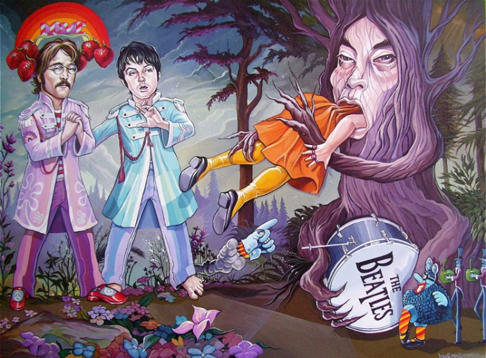 'When Yoko Ate Ringo' by Dave MacDowell