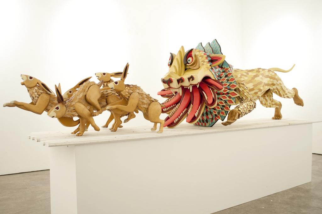 The sculpture of AJ Fosik